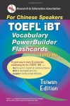 TOEFL iBT Vocabulary Flashcard Book (Taiwan Edition) (Flash Card Books) (English as a Second Language Series) - Lucia Hu