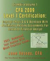 Examwise Volume 1 Cfa 2009 Level I Certification with Preliminary Reading Assignments the Candidates Question and Answer Workbook for Chartered Financ - Jane Vessey