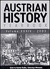 Austrian History Yearbook 2003 - Charles W. Ingrao