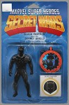 Secret Wars Battleworld #1 (0f 4) Black Panther Action Figure Variant - Joshua Williamson, Ed Brisson, Mike Henderson, Scott Hepburn, John Tyler Christopher