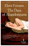 The Days of Abandonment: 10th Anniversary Edition - Elena Ferrante