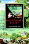 The Cambridge Companion to Shakespeare's Poetry (Cambridge Companions to Literature) - Patrick Cheney