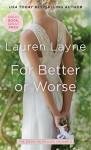 For Better or Worse (Wedding Belles Book 2) - Lauren Layne