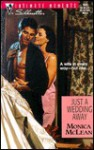 Just a Wedding Away (Conveniently Wed) (Silhouette Intimate Moments No. 993) - Monica McLean