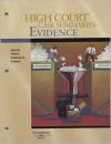 High Court Case Summaries on Evidence (Keyed to Fisher) - West Publishing Group
