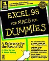Excel 98 for Macs for Dummies - Greg Harvey, Shane Gearing