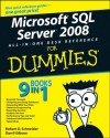 Microsoft SQL Server 2008 All-in-One Desk Reference For Dummies - Darril Gibson