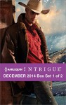 Harlequin Intrigue December 2014 - Box Set 1 of 2: Deliverance at Cardwell RanchCold Case in Cherokee CrossingWitness Protection - B.J. Daniels, Rita Herron, Barb Han