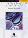 Children's Favorite Movie Songs: The Phillip Keveren Series Big-Note Piano - Hal Leonard Publishing Company