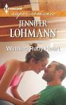 Winning Ruby Heart (Harlequin Large Print Super Romance) - Jennifer Lohmann
