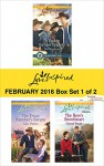 Love Inspired February 2016 - Box Set 1 of 2: A Daddy for Her TripletsThe Texas Rancher's ReturnThe Hero's Sweetheart (Lone Star Cowboy League) - Deb Kastner, Allie Pleiter, Cheryl Wyatt