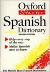 The Oxford Starter Spanish Dictionary - Ana Christina Llompart, Carol Styles Carvajal, Jane Horwood