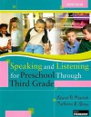 Speaking and Listening for Preschool Through Third Grade [With DVD] - Lauren B. Resnick, Catherine E. Snow