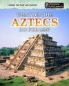 What Did the Aztecs Do for Me? - Elizabeth Raum