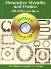 Decorative Wreaths and Frames CD-ROM and Book - Dover Publications Inc.