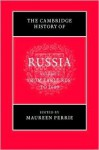 The Cambridge History of Russia, 3 Volume Set (v. 1-3) - Maureen Perrie, Dominic Lieven