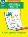 Modern Manuscript Handwriting Practice Skill Builder - Vicky Shiotsu, Frank Schaffer Publications