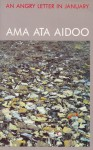 An Angry Letter In January And Other Poems - Ama Ata Aidoo