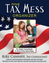 Annual Tax Mess Organizer for Sales Consultants & Home Party Sales Reps - Kiki Canniff
