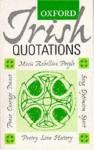 Oxford Irish Quotations - Bernard O'Donoghue