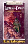 Legacy of the Drow Gift Set (Forgotten Realms: Legacy of the Drow, #1-4; Legend of Drizzt, #7-10) - R.A. Salvatore