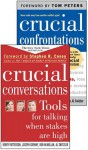 Crucial Conversations And Crucial Confrontations Value Pack - Kerry Patterson, Joseph Grenny, Ron McMillan