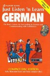 Just Listen 'n Learn German with Book (3 CD) - Listen 'N' Learn