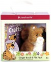 Ginger Book & Pet Package [With Plush Kitten] - American Girl