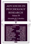 Advances in Psychology Research, Volume 54 - Alexandra M. Columbus