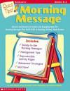 Quick Tips!: Morning Message - Ann Adams, Diane Farnham, Donna Peabody, Carol McQuillen