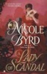 A Lady of Scandal - Nicole Byrd