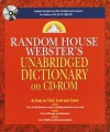 Random House Webster's Unabridged Dictionary on CD-ROM - Random House