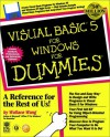 Visual Basic 5 for Windows for Dummies - Wallace Wang
