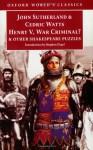 Henry V, War Criminal?: And Other Shakespeare Puzzles - John Sutherland, Karl-Heinz Engel, Cedric Watts, Stephen Orgel