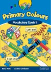 Primary Colours 1 Vocabulary Cards - Diana Hicks, Andrew Littlejohn