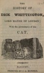 The history of Dick Whittington, Lord Mayor of London : with the adventures of his cat - George Cruikshank