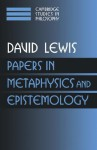 Papers in Metaphysics and Epistemology: Volume 2 - David Kellogg Lewis, Ernest Sosa, Jonathan Dancy