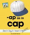 AP as in Cap - Mary Elizabeth Salzmann