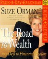 NOT A BOOK Suze Orman The Road to Wealth Page-A-Day Calendar 2002 - NOT A BOOK