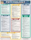 CHART: Psychology Laminate Reference Chart: The Basic Principles of Psychology for Introductory Courses - NOT A BOOK