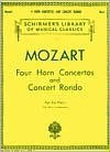 Four Horn Concertos and Concert Rondo - Wolfgang Amadeus Mozart