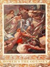 THE ODYSSEY (illustrated, complete and unabridged in verse) - - HOMER, Alexander Pope, Charles Robinson