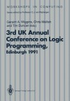 Alpuk91: Proceedings of the 3rd UK Annual Conference on Logic Programming, Edinburgh, 10 12 April 1991 - Geraint A. Wiggins