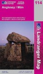 Map: Anglesey (Landranger Maps) - NOT A BOOK