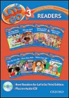 Let's Go 3 Readers [With CD (Audio)] - Ritsuko Nakata, Karen Frazier, Barbara Hoskins