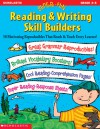 Super-fun Reading & Writing Skill Builders: 50 Motivating Reproducibles That Reach & Teach Every Learner! - Terry Cooper