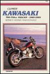 Kawasaki 700-750cc Vulcan, 1985-1995: Service, Repair, Maintenance - Clymer Publishing