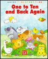 One to Ten and Back Again (Large Board Books: Rhyme Time Story Time) - Lorna Read, Jenny Tulip