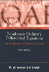 Nonlinear Ordinary Differential Equations: An Introduction To Dynamical Systems - Dominic Jordan, Peter Smith
