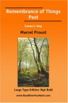Remembrance of Things Past Swanns Way (Large Print) - Marcel Proust